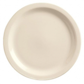 World Tableware - Kingsmen Narrow Rim Plate, 7.25 Cream White Porcelain