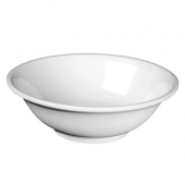 Bowl, 22 oz Rimless Melamine White