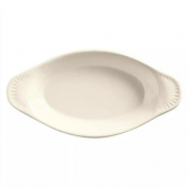 World Tableware - Bedrock Ovenware Welsh Rarebit, 8 oz Cream White Porcelain