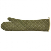 "Winco - Oven Mitt, 24"" Green Flame Retardant, Heat-Resistant up to 400 degrees F"