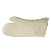 "Winco - Oven Mitt, 17"" Terry with Silicone Lining, Heat-Resistant up to 600 degrees F"