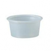 Solo - Souffle Portion Cup, .75 oz Translucent Plastic