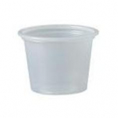 Solo - Souffle Portion Cup, 1 oz Translucent Plastic