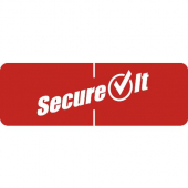 National Checking - SecureIt Tamper Evident Label, 1x3, Fits Food Container