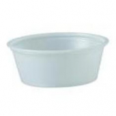 Solo - Souffle Portion Cup, 1.5 oz Translucent Plastic