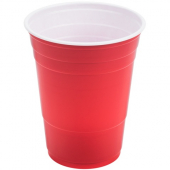 Dart - Solo Party Plastic Cup, 16 oz Red