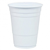 Dart - Solo Party Plastic Cup, 16 oz White