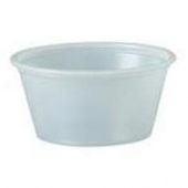 Solo - Souffle Portion Cup, 2 oz Translucent Plastic