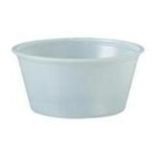Solo - Souffle Portion Cup, 3.25 oz Translucent Plastic