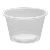 Karat - Portion Cup, 4 oz Clear PP Plastic