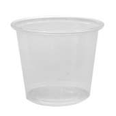 Karat - Portion Cup, 5.5 oz Clear PP Plastic