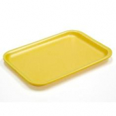 Pactiv - Meat Tray, Yellow 8.2x5.7x.65