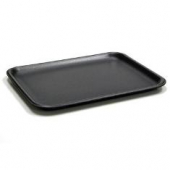 Pactiv - Meat Tray, Black 9.125x7.125x.65