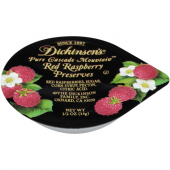 Dickinson's - Red Raspberry Preserves (in Aluminum Container), .5 oz