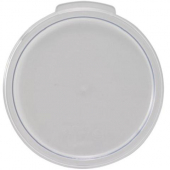 Winco - Food Storage Container Cover, Round Clear PC Plastic, Fits 6/8 qt Containers