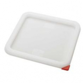 Winco - Food Storage Container Cover, White Square, Fits 6/8 qt Containers