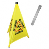 "Safety Cone with Storage Tube, 31"" Pop-Up"