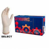 Latex Gloves, Powder Free, Medium