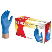 Xtreme Nitrile Powder Free Gloves, Medium Blue