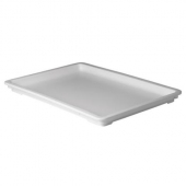 Winco - Dough Box Cover, Fits 25.625x18x3.25 and 25.5x17.5x6 Boxes, White PP Plastic