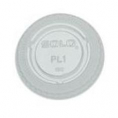 Solo - Lid, Clear Plastic Souffle Portion Cup Lip, Fits .75 and 1 oz