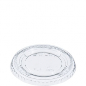 Solo - Lid, Clear Plastic Souffle Portion Cup Lip, Fits 3.25 to 5.5 oz