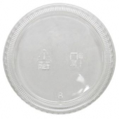 Karat - Portion Cup Lid, Fits 3.25-5.5 oz Cups, Clear PET Plastic