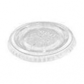 Solo - Lid, Clear Poly Cold Drink Lid, Fits 7-9 oz