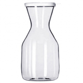 Carafe, 34 oz Clear PC Plastic