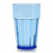 Tumbler, 12 oz Diamond Blue Plastic