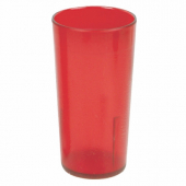 Tumbler, 9.5 oz Red Plastic