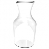 Wine Decanter, 9 oz Clear PC Plastic