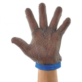 Winco - Glove with Stainless Steel Protective Mesh, Large