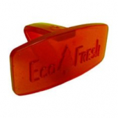 Toilet Bowl Deodorizer Clip, Eco Fresh, Red, Spiced Apple Scent