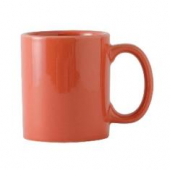 Tuxton - DuraTux C-Handle Mug, 12 oz Cinnebar (Orange)