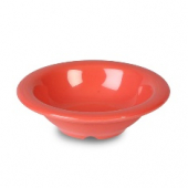 "Salad/Fruit Bowl, 4.75"" Red/Orange Melamine"