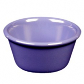 "Ramekin, 3.375"" Smooth Plastic, 4 oz Purple/Blue"