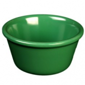 "Ramekin, 3.375"" Smooth Plastic, 4 oz Green"