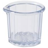 Winco - Syrup Pitcher, 2 oz Clear Plastic