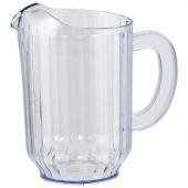 Winco - Water Pitcher, 60 oz Clear SAN Plastic