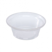 Karat - Portion Cup, 1 oz Squat Clear Plastic