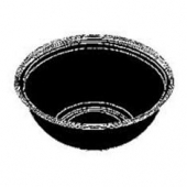 "Round Bowl, 12"" Black, 160 oz"