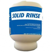 Advantage Chemical - Dish Rinse Aid, Solid, 'Solid Rinse'