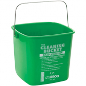 Winco - Cleaning Pail, 3 Quart Green for Soap