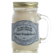 Our Own Candle Company - Winter Wonderland Mason Jar Candle