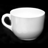 Mug, 23 oz Passion White Melamine, 4.75""