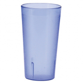 Winco - Pebbled Tumbler, 16 oz Blue