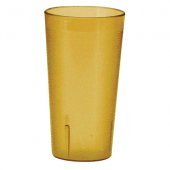 Winco - Pebbled Tumbler, 20 oz Amber