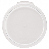 Winco - Food Storage Container Cover, Round Translucent PP Plastic, Fits 2/4 qt Containers