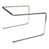 Winco - Pizza Tray Stand, Chrome Plated 9x8x7